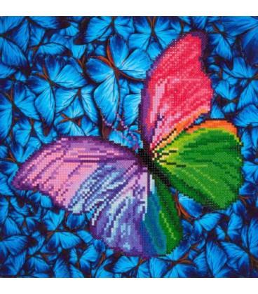 Flutter by Pink Diamond Dotz: 31x31 cm