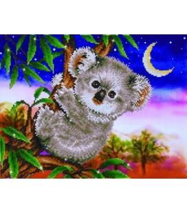 Koala Snack Diamond Dotz: 48x37 cm