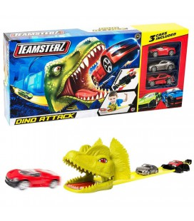 TEAMSTERZ DINO ATTACK + 3 CARS