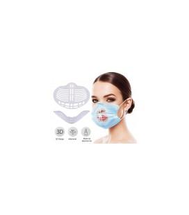 3D inzetstuk mondkapje - makkelijk ademen