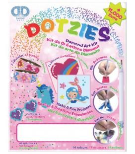 HOBBYDOOS DOTZIES DIAMOND ART ROZE / deelnemer beste speelgoed v NL 2020