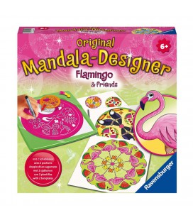 MANDALA DESIGNER MIDI FLAMINGO 2 IN 1