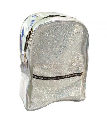 Rugzak holografisch parelmoer