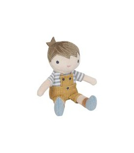 Little Dutch knuffelpop Jim 10 cm