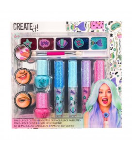 CREATE IT! MAKE-UP SET GLITTER ZEEMEERMIN