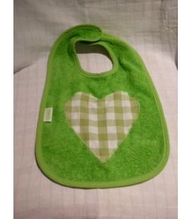 Groene slab met ruiten hart