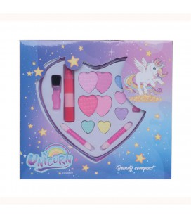 CASUELLE MAKE-UP SET UNICORN HARTVORM