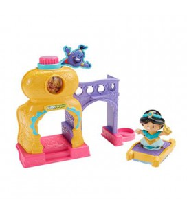 Fisher price little people jasmine's friendship palace
