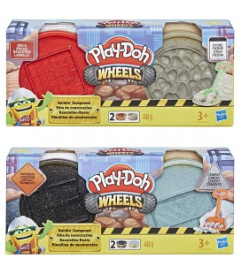 PLAY-DOH WHEELS BUILDIN COMPOUND ASSORTI