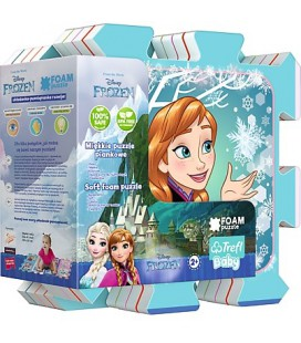 puzzel Frozen vloer foam 8 stukjes