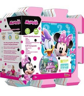 Vloerpuzzel Minnie Mouse Foam 8 stukjes