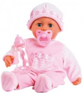 First words baby bayer : 38 cm eerste woorden babypop