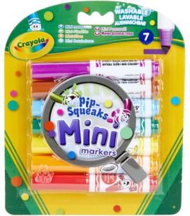 Mini afwasbare stiften crayola  7 stuks