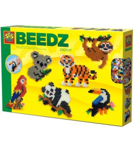 Beedz Strijkkralen SES jungle dieren