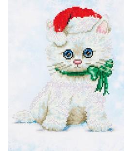 Chrissy kitty diamond dotz / kitty kat diamond painting 27 x 35 cm