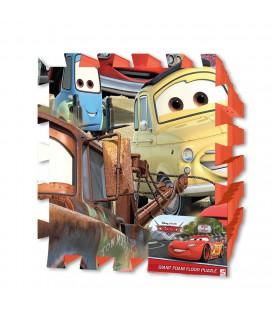 Vloerpuzzel Cars Foam 90 cm 9 delig