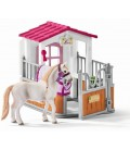 Paardenbox met Lusitano merrie Schleich (42368)