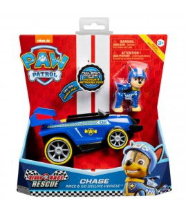 PAW PATROL RACE THEMED VEHICLE CHASE