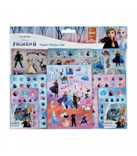 Frozen2 stickerset 500 delig
