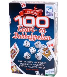 De 100 beste kaart- en dobbelspellen (0635001)