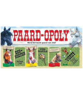 spel Paard-Opoly (50041) monopoly paard