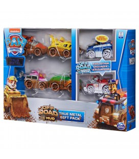 PAW PATROL TRUE METAL VEHICLE 6 PACK