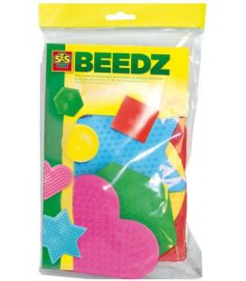 Strijkkralen bordjes SES 5-pack: vormen (00782)