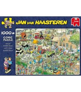 Puzzel jan van haasteren jvh boerderij bezoek 1000 stuks