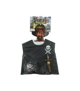 Piraten verkleedset op kaart