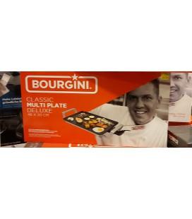 Bourgini grillplaat 46 x 20 cm multi plate deluxe classic