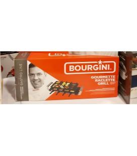 Bourgini grillplaat gourmette raclette grill 8 personen gastro line