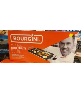 Bourgini grillplaat classic duo multi plate 56 x 30 cm