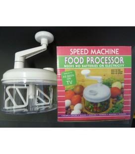 Foodprocessor snijden en mixen handbediend (uitlopend art.)
