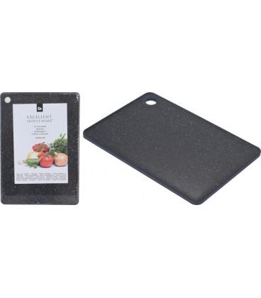 Snijplank kunststof 33x23cm zwart