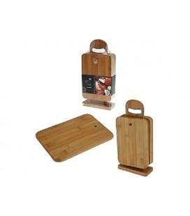 Snijplank of ontbijtplank hout set a 6 stuks
