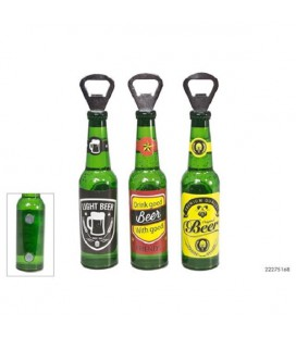 Bierfles opener met magneet (per stuk geleverd)