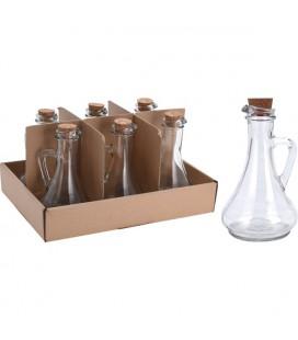 Olie/azijn fles glas 300ml (wordt per stuk verkocht)