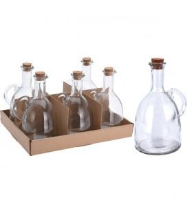 Olie/azijn fles glas 500ml