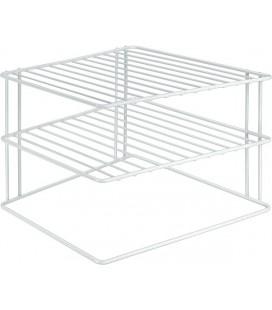 Metaltex Silos hoekkastrek 2 laags wit