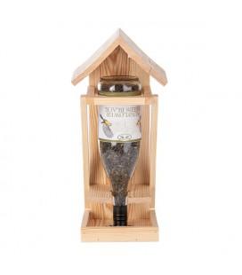 Esschert Design Wijnfles voederhouder 17x18,5xH41,5cm (exclusief fles)