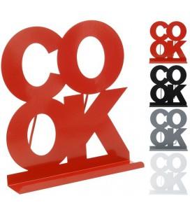 Kookboekstandaard metaal COOK
