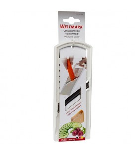 Westmark Groenteschaaf komkommerschaaf Küchenmaid wit