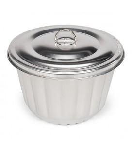 Patisse puddingtrommel poffert 2,0 liter rond 18 cm