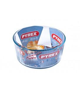 Pyrex souffle vorm glas 21cm
