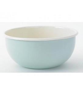 Hollandsch Pastel Emaille Mengkom 22 cm blauw