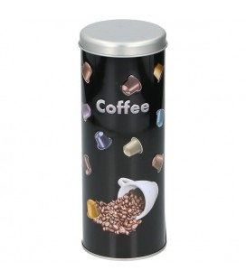 Koffiepadsblik Ø7,7x20cm