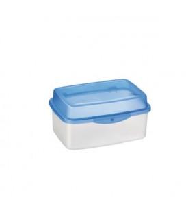 Sunware koekdoos transp/blauw 3.5L