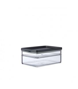 Mepal koelkastdoos omnia ontbijt duo - zwart 219 x 149 x 94mm 500 ml + 1200 ml