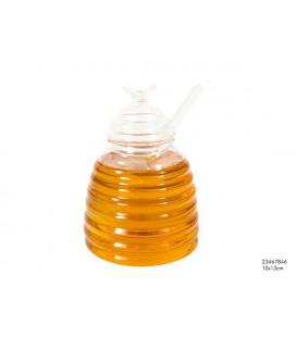 Honingpot glas 10x13cm