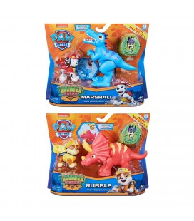 PAW PATROL DINO RESCUE DINO ACTION PACK PUPS ASSORTI